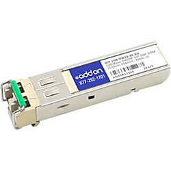 AddOn MSA and TAA Compliant 1000Base-DWDM 100GHz SFP Transceiver (SMF, 1563.05nm, 40km, LC, DOM)