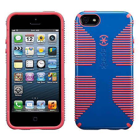 Speck® CandyShell™ Grip Case For Apple® iPhone® 5/5S, Blue/Pink