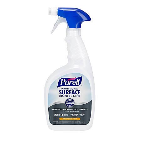 Purell® Professional Surface Disinfectant, Citrus Scent, 32 Oz