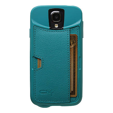 CM4 Q-Card Case For Samsung Galaxy S4, Green, QS4-GREEN-C