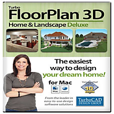 TurboFloorPlan Home Landscape Deluxe 2017 Mac