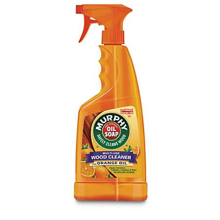 Murphy Oil Soap Multi-Use Wood Cleaner, Orange Scent, 22 Oz