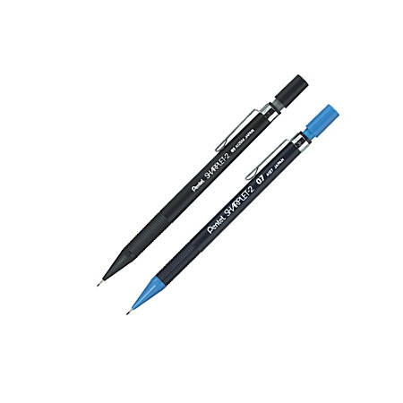 Pentel® Sharplet-2 Mechanical Pencils, 0.7 mm, Dark Blue Barrel, Pack Of 12 Pencils