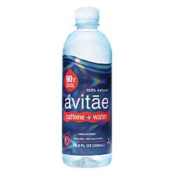 avitae Caffeinated Water, 90mg Caffeine, 16.9 Oz, Pack Of 24