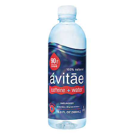 avitae Caffeinated Water, 90mg Caffeine, 16.9 Oz, Pack Of 24