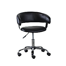 Powell Gas Lift Desk Chair Black