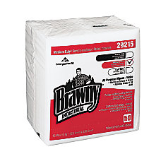 Brawny Industrial Airlaid Wipers Unscented 13
