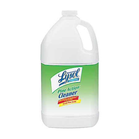 Lysol Professional Brand II Disinfectant Pine Action Cleaner, Pine Scent, 1 Gallon