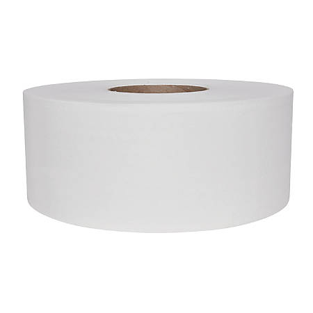 Scott® Jumbo 2-Ply Bathroom Tissue, Unperforated, 1,000' Per Roll, White, Case Of 12 Rolls