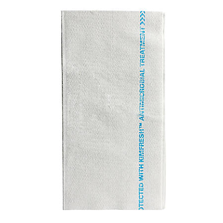 """Kimberly-Clark® WYPALL X80 Food Service Towels, 12"""" x 23 1/4"""", White/Blue, Case Of 150"""