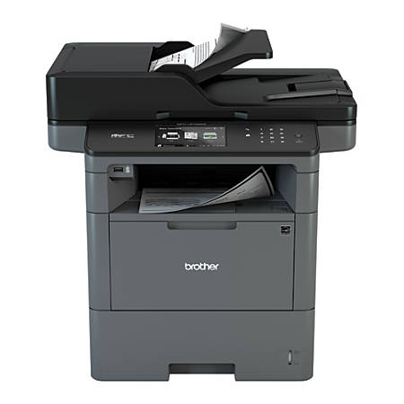 brother wireless monochrome laser all in one printer copier scanner