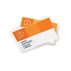 GBC UltraClear Thermal Laminating Pouches Sheet
