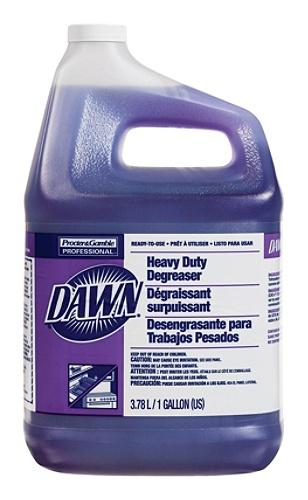 Heavy Duty Degreaser >> Dawn Heavy Duty Degreaser 1 Gallon Case Of 3 Item 1250965