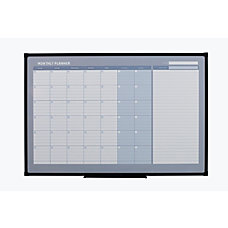 Office Depot Monthly Magnetic Dry Erase