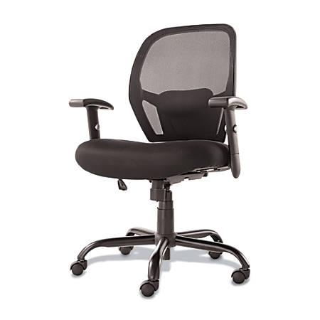 Alera Merix450 Series Mesh Mid-Back Chair, Black