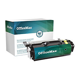 Office Depot Brand OM04899 (Lexmark™ T650H21A) High-Yield Remanufactured Black Toner Cartridge