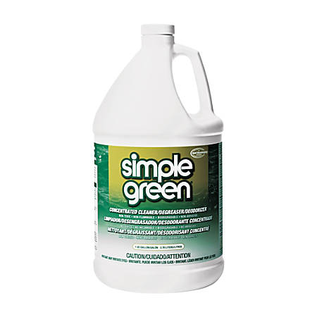 Simple Green All-Purpose Industrial Degreaser/Cleaner, 1 Gallon Bottle, Case Of 6 Bottles