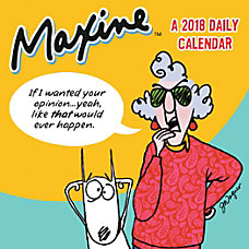 TF Publishing Maxine Daily Desktop Calendar