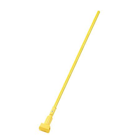 "Unisan Aluminum Mop Handle, 60"", Yellow"