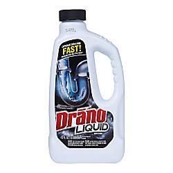 Drano Liquid Clog Remover And Liquid