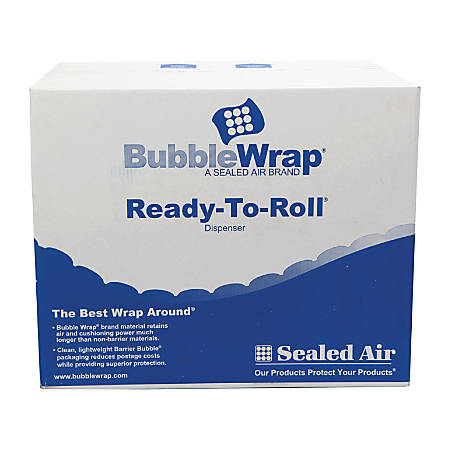 "Sealed Air Bubble Wrap Rolls, 12"" x 175', Pack Of 2"