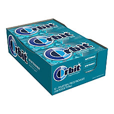 Orbit Wintermint Gum 136 Oz Box