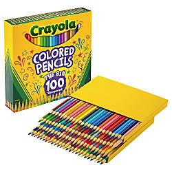 Crayola Colored Pencils 100 count unique