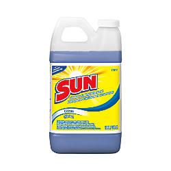 Sun Liquid Laundry Detergent Citrus Scent