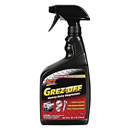Spray Nine Grez-Off Heavy-Duty Degreaser, 32 Oz, Case Of 12