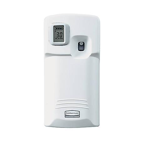 Rubbermaid® TC Microburst 3000 LCD Aerosol Dispenser/Odor Control System, White