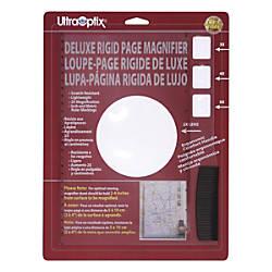 Ultra Optix Deluxe Rigid Page Magnifier