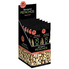 Wonderful Pistachios Sweet Chili 125 Oz