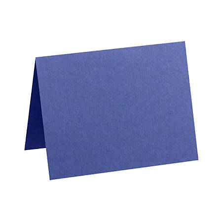 "LUX Folded Cards, A6, 4 5/8"" x 6 1/4"", Boardwalk Blue, Pack Of 250"