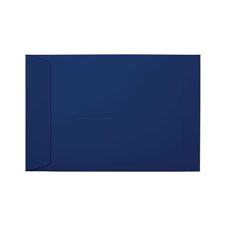"LUX Open-End Envelopes With Moisture Closure, #6 1/2, 6"" x 9"", Navy, Pack Of 500"