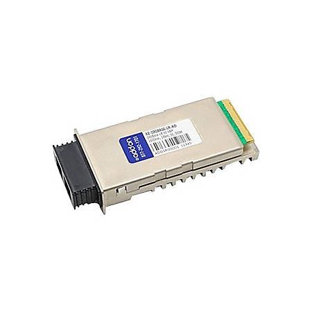 AddOn MSA and TAA Compliant 10GBase-LR X2 Transceiver (SMF, 1310nm, 10km, SC, DOM)