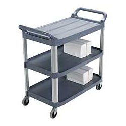 Best Of Rubbermaid Service Cart with Cabinet