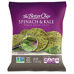 The Better Chip SpinachKale Chips Gluten