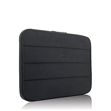 "Solo Bond Sleeve For 17.3"" Laptops, Black"