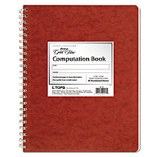 Ampad Retro Computation Notebook 9 14