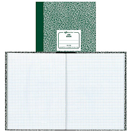 "Avery® Quadrille Laboratory Notebook, 7 7/8"" x 10 1/4"", Quadrille Ruled, 60 Sheets"