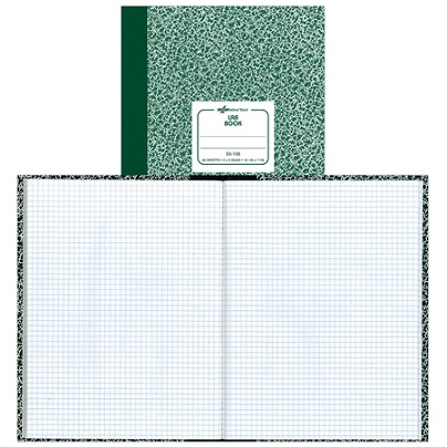 avery quadrille laboratory notebook 7 78 x 10 14 quadrille ruled 60