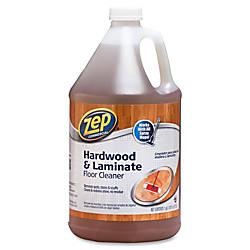 Zep Commercial HardwoodLaminate Floor Cleaner Liquid
