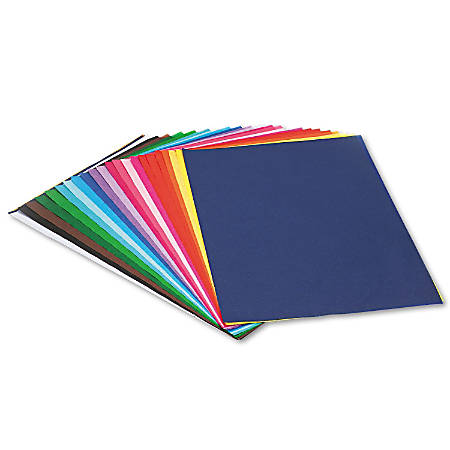 """Pacon® Spectra® Assorted Color Tissue Pack, 12"""" x 18"""", 25 Colors, Pack Of 100 Sheets"""