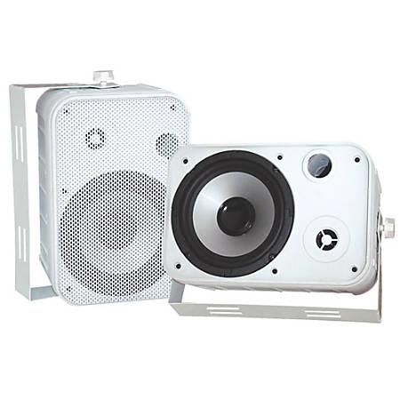 Pyle Pro PDWR50W 2-Way Indoor/Outdoor Speaker, White