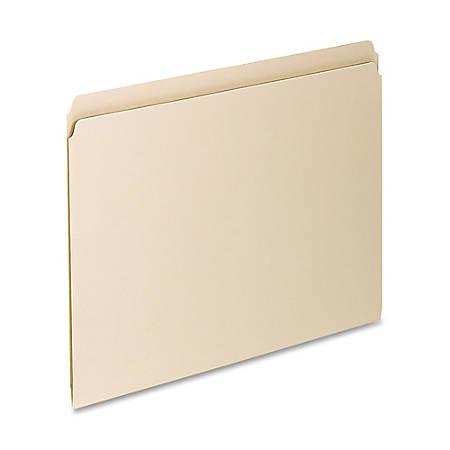 Pendaflex® Essentials File Folders, Letter Size, Straight Cut, Manila, Box Of 100
