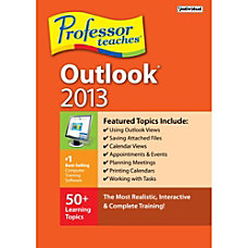 Professor Teaches Outlook 2013