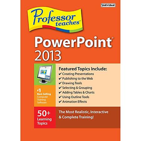 Professor Teaches PowerPoint 2013, Download Version