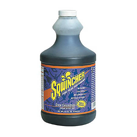 Sqwincher ZERO Liquid Concentrate, Mixed Berry, 64 Oz, Case Of 6