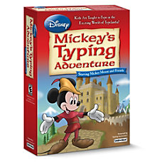 Disney Mickeys Typing Adventure Starring Mickey