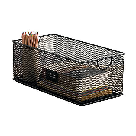 Neat Life Mesh Storage Box, Large, Black